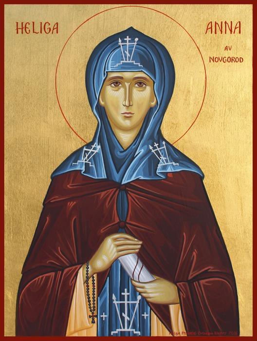 Heliga Anna av Novgorod